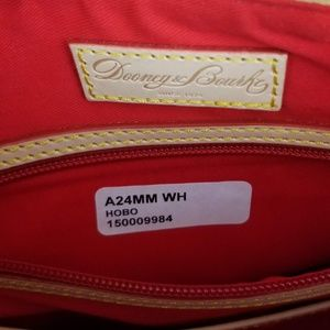 Dooney & Bourke Bags - Dooney and Bourke Miami Hobo Bag Ibis UM White